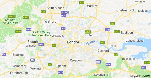 londra mappa