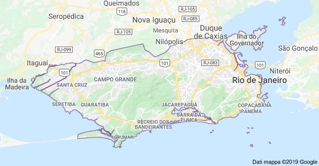 mappa rio de janeiro