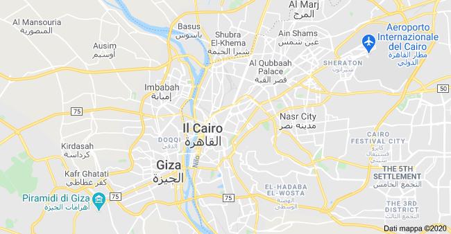 mappa il cairo