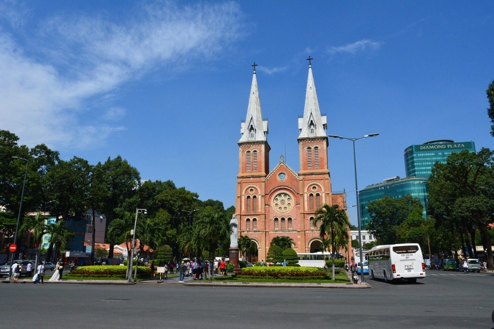 cattedrale notre dame ho chi minh