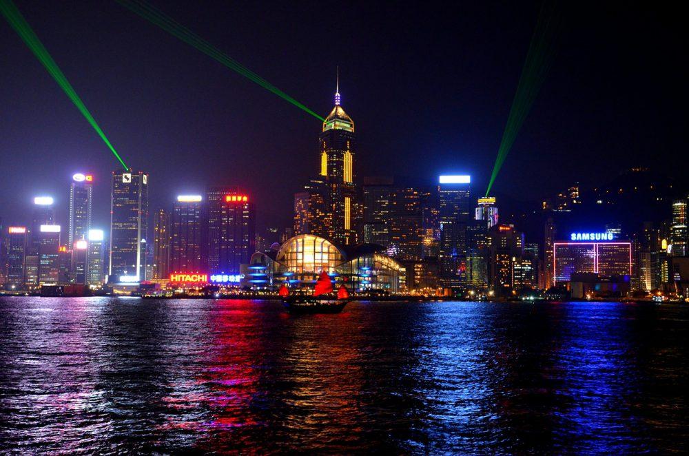 hong-kong skyline