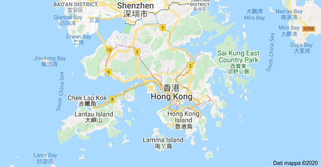 mappa hong kong