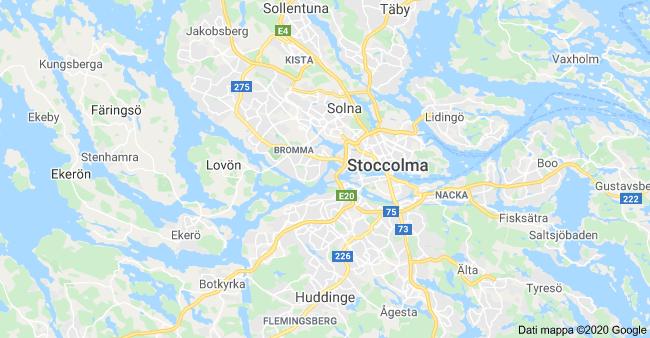mappa stoccolma