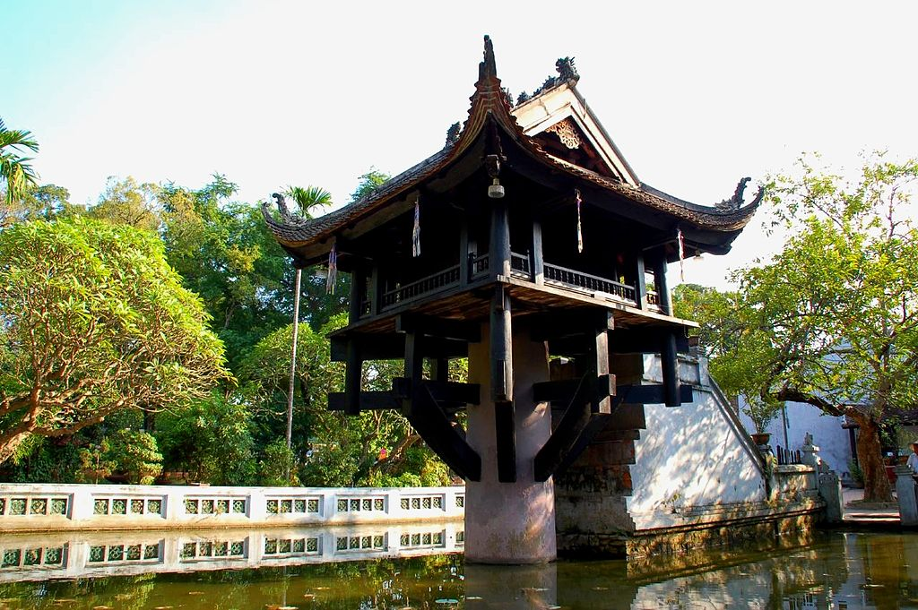 pagoda a un solo pilastro hanoi