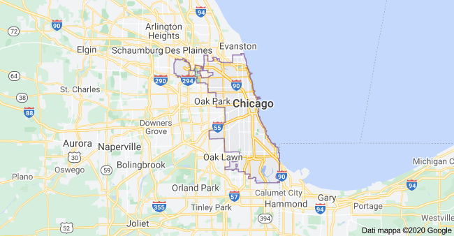 mappa chicago
