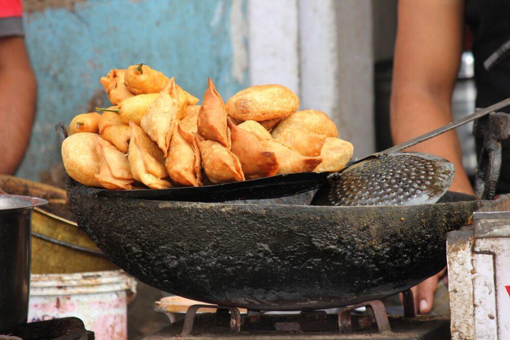 Samosa piatto indiano