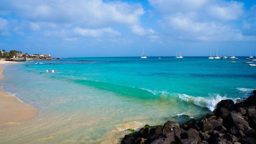 capo verde spiaggia foto