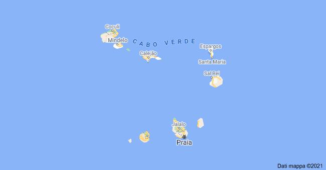 mappa capo verde