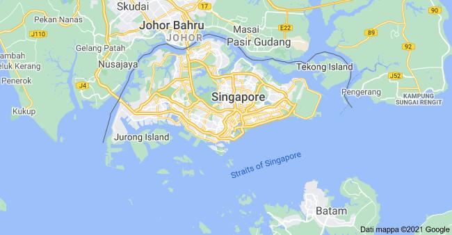 mappa singapore