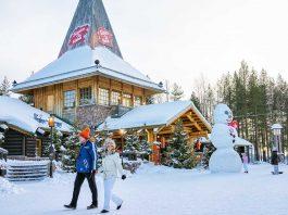Santa Claus Village. Cosa Fare. Aurora Boreale